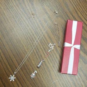 Avon charm necklace set